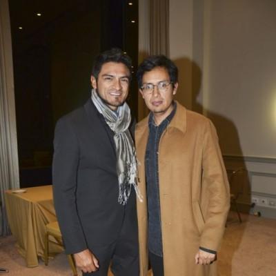 Lud Vargas y Edward Venero.