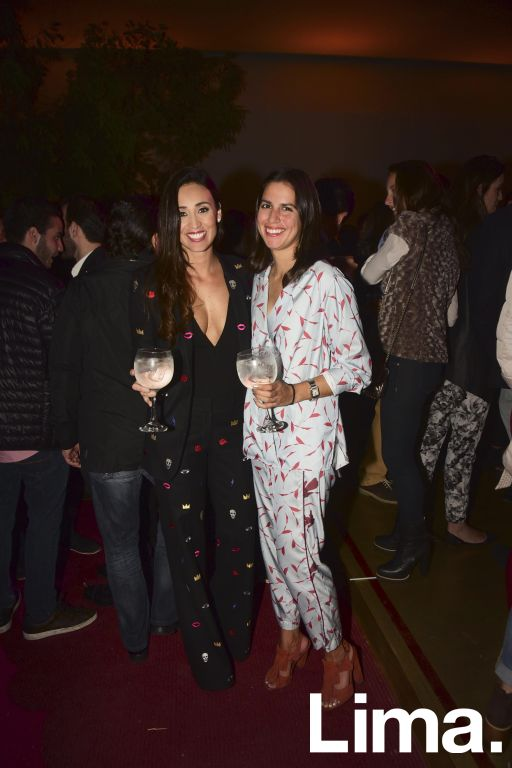 Mónica Gallese y Daniela Chávez-Molina.