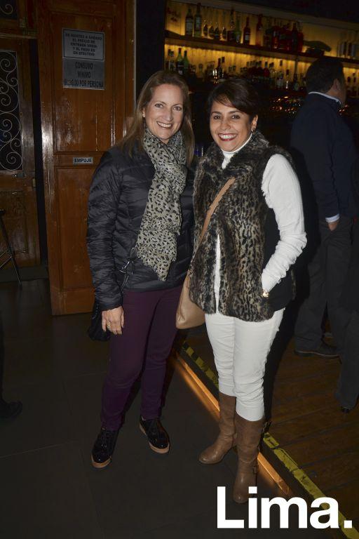 M¢nica Velarde y Maria Eugenia Trujillo.