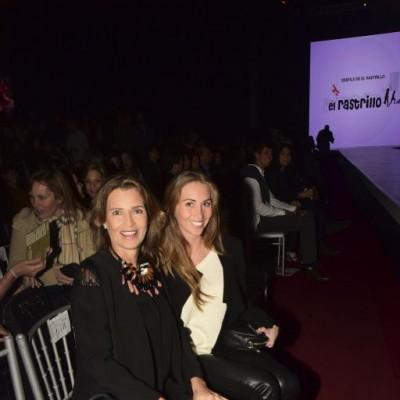 Marcela Ganoza y Andrea Gallese.