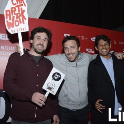 Marco Tacón, Emmanuel Pico Estrada y Andrés Wust.
