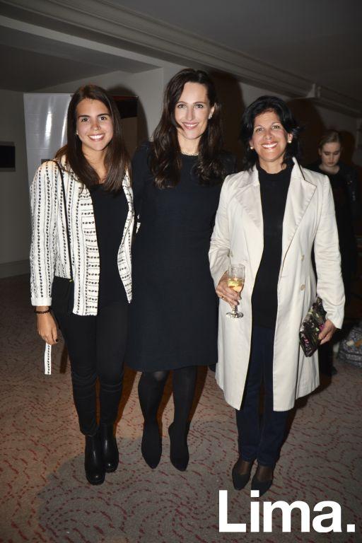 Maria Laura López, Mar Campo y Laura León Concha.