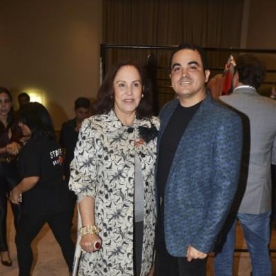 Maria Lourdes Rodríguez y Yirko Sivirich.