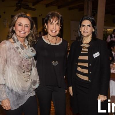 Maria Teresa Guzzinati, Mili Blume y Ximena Zavala.