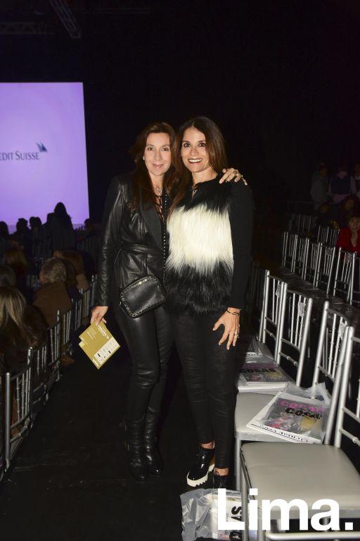 Mariana Calda y Johanna Lizier.