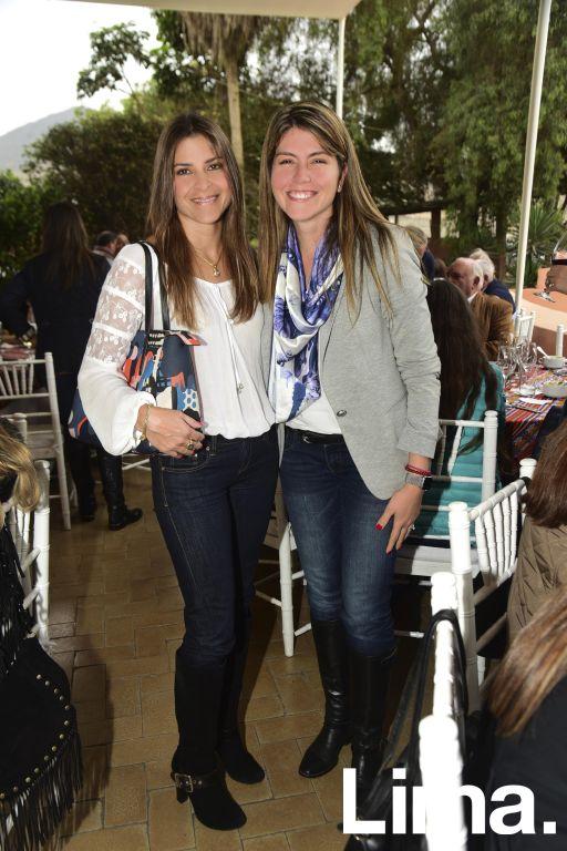 Mariela Torres y Maria Morales.