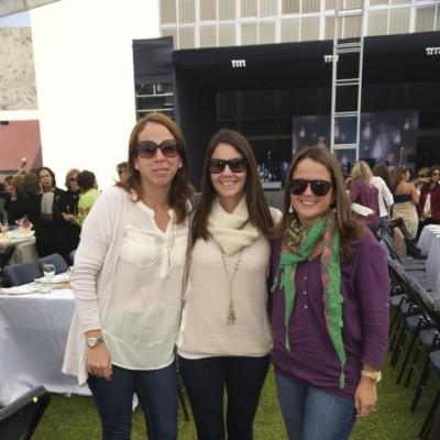 Maritza Narvarte, Hannie Ramsey y Maria José León.