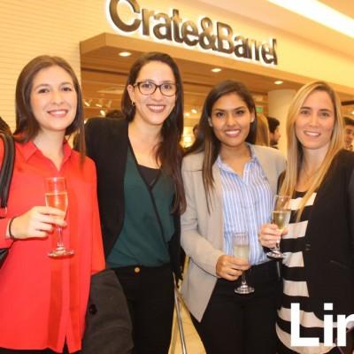 Mayra Rolando, María Claudia Malca, Melissa Reyes Siña y Daniella Tori.