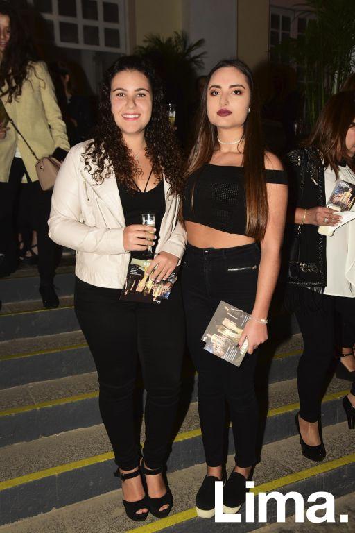 Nadine Simon y Valeria Harasic.