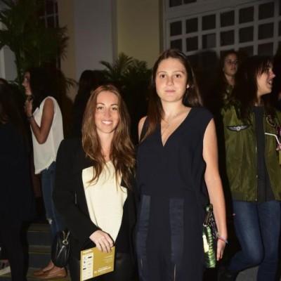 Andrea Gallese y Paloma Santa Cruz.