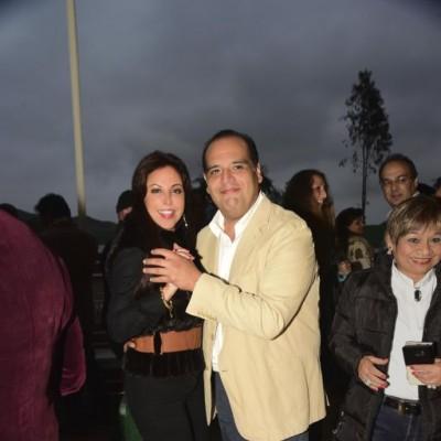 Patty Chirinos y Salomon Villafuerte.