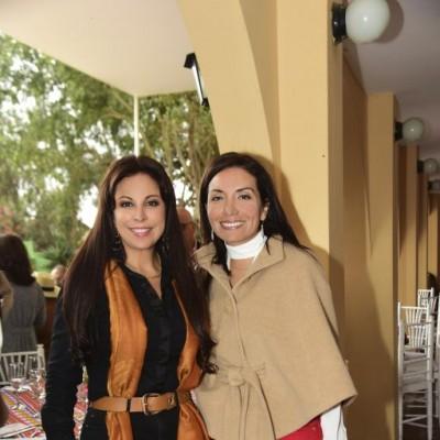 Patty Chirinos y Yuliana Aguirre.