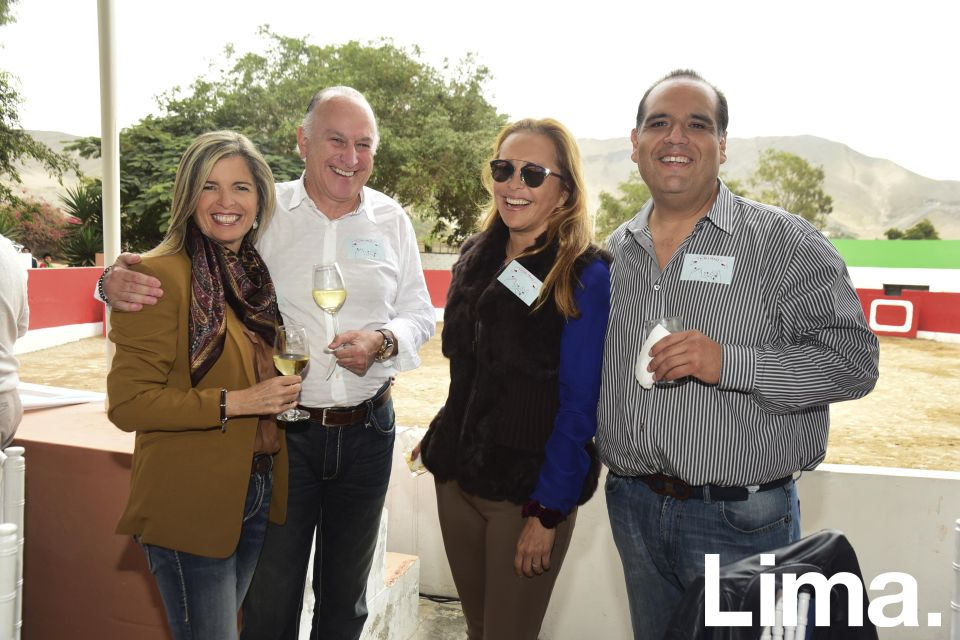 Priscila Galindo, Enrique Mendizabal, Ana Mark y Salomon Villafuerte.