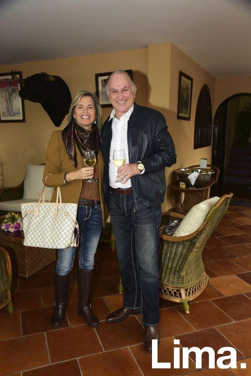 Priscila Galindo y Enrique Mendizabal.