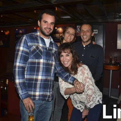 Ricardo Ferraro, Marcella Sousa, Yuri Sousa y Patricia Sousa.