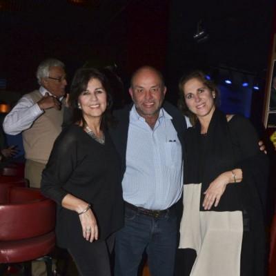 Rocío García, Freddy Blume y Cecilia Dammert.