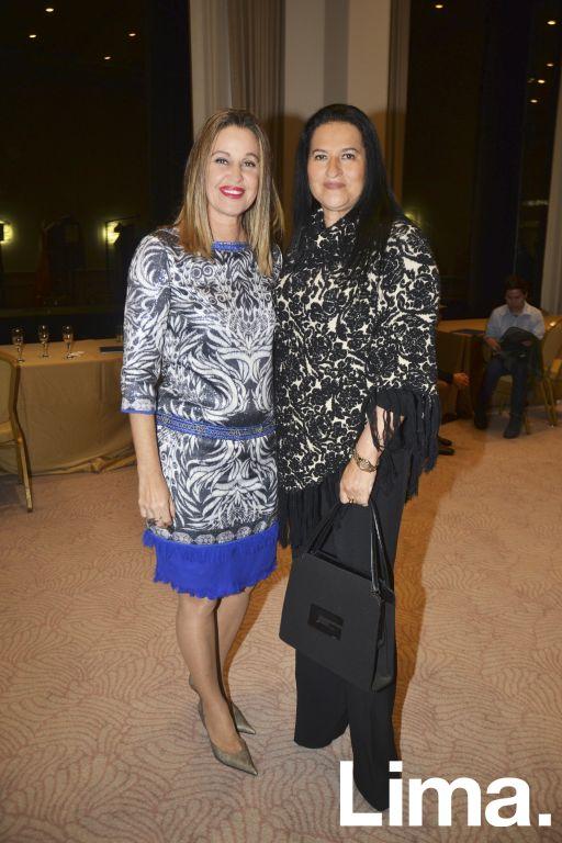Rosario de Armenteras y Carla Pareja.