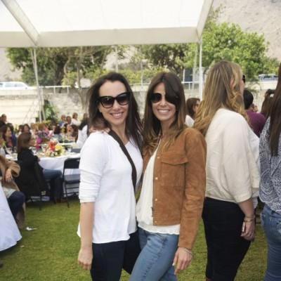 Rosi Miro Quesada y Gillian Rodrigo.