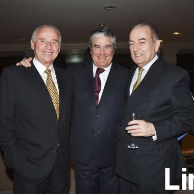 Salvador del Solar, Jaime Mujica y Fernando Berckemeyer.