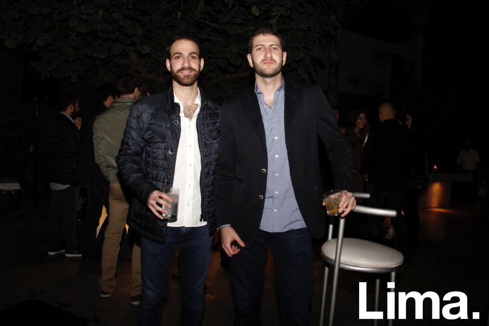 Sami Abusada y Nikolas Zaidan.