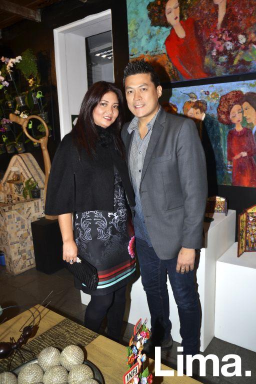 Sofía Shimabukuro y Víctor Chau.