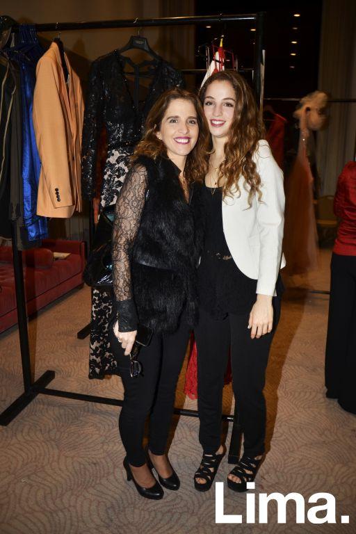Valeria y Sandra Woodman.