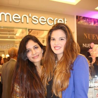 Vania Cáceres y Mariana Otarola.