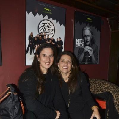 Verónica Cooper y Sandra Freundt.