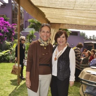 Vicky Porto y Silvia Univazo.