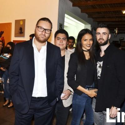 Vladimir Tsellermaer, Jose Antonio Pickman, Molly Tuesta y Rostislav Skulbeda