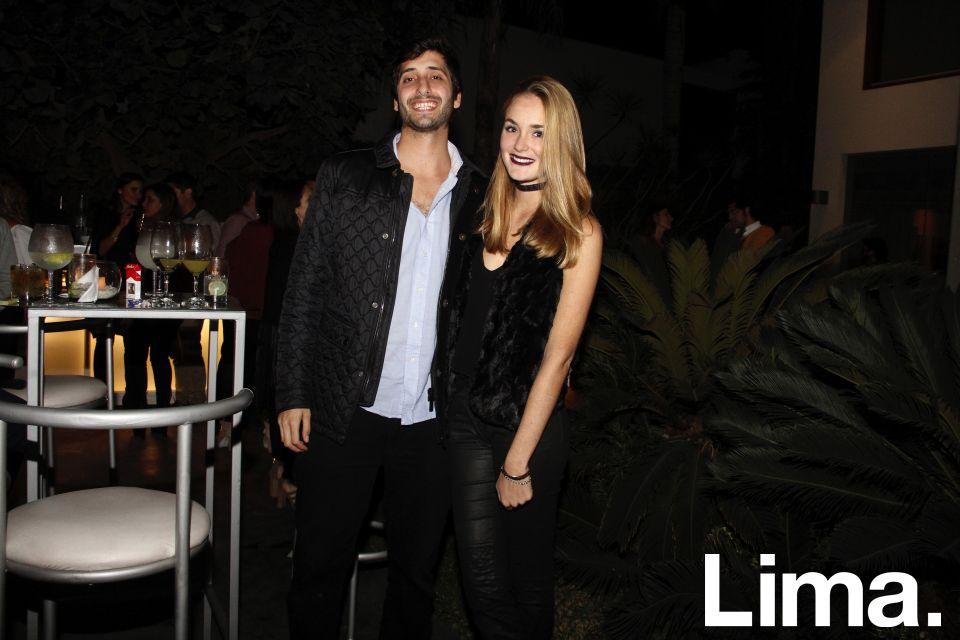 Yazan Tubbeh y Alessia Gulman.
