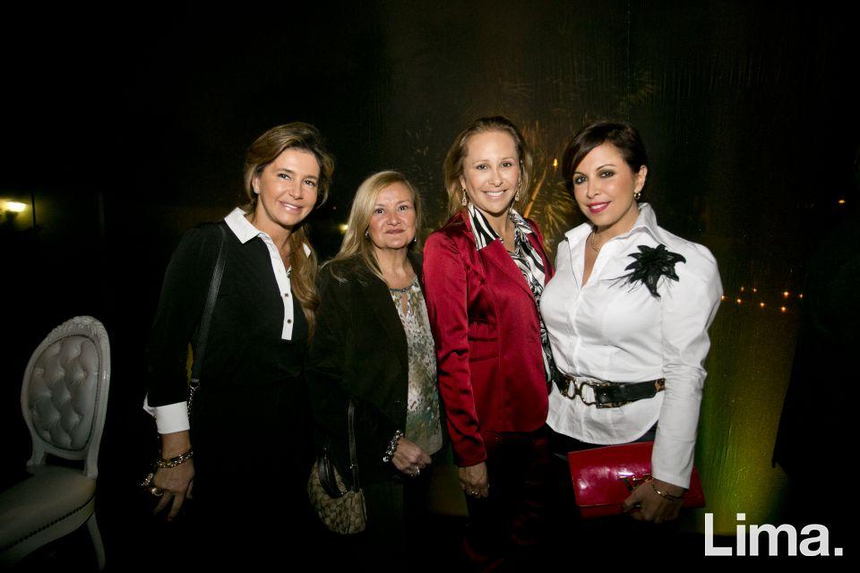 María Inés Castro, Marivi Aramburú, Ana Mark y Patricia Chirinos.