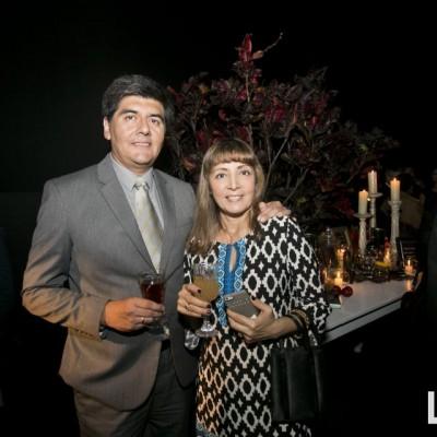 Carlos y Patricia Meza.