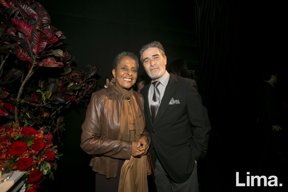 Susana Baca y Ricardo Pereyra.