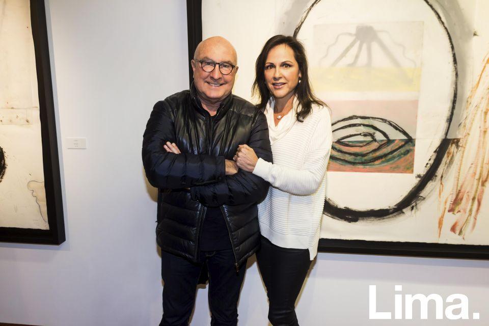 Adolfo Dammert y Maria Elena Escribens.