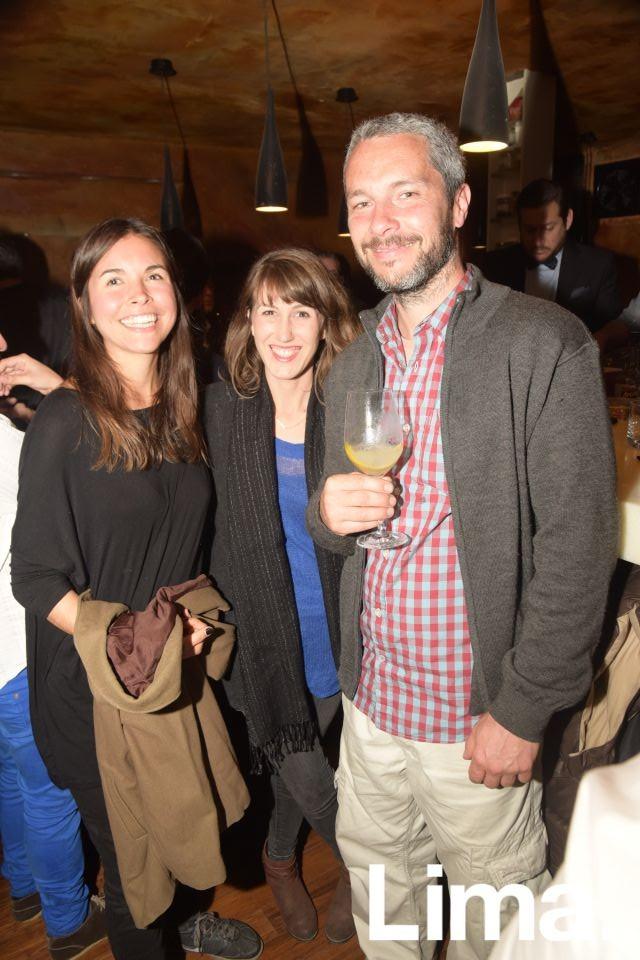 Agnes, Rivera, Kelly Phenicie y Diego Ruete.