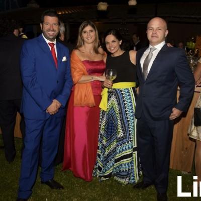 Alberto Caicedo, Úrsula Diaz, Fiorella Corrochanoe Iñaki Godoy.