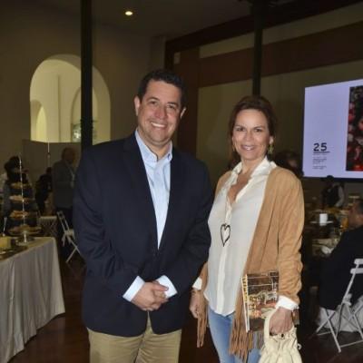 Alberto Rodriguez y Úrsula Vega.