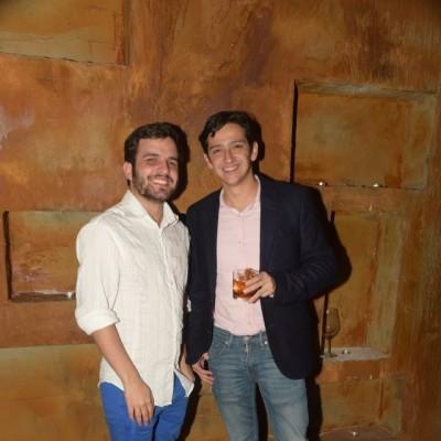 Alejandro Anderson y Javier Benavides.