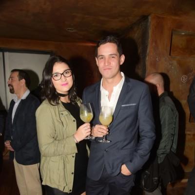 Alessandra Carreram y Stefano Franchini.