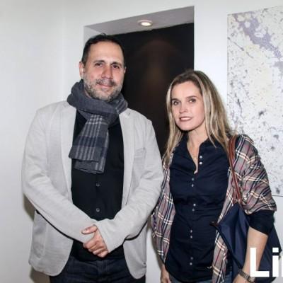 Alfredo Queirolo y Luciana Vasile.
