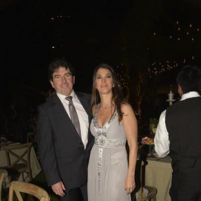 Alfredo Woodman y Lorena Villarán.