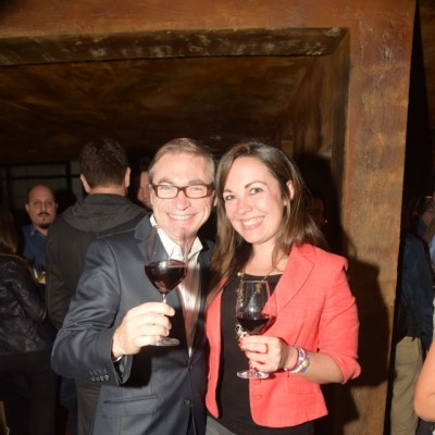 Arthur Marcinkiewicz y Melina Bertocchi.