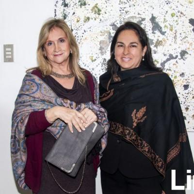 Beatriz Portocarrero y Mercedes Benavides.