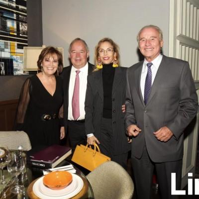 Bety Phillips, Fernando Rodríguez, Marilú Vignati y Salvador del Solar.