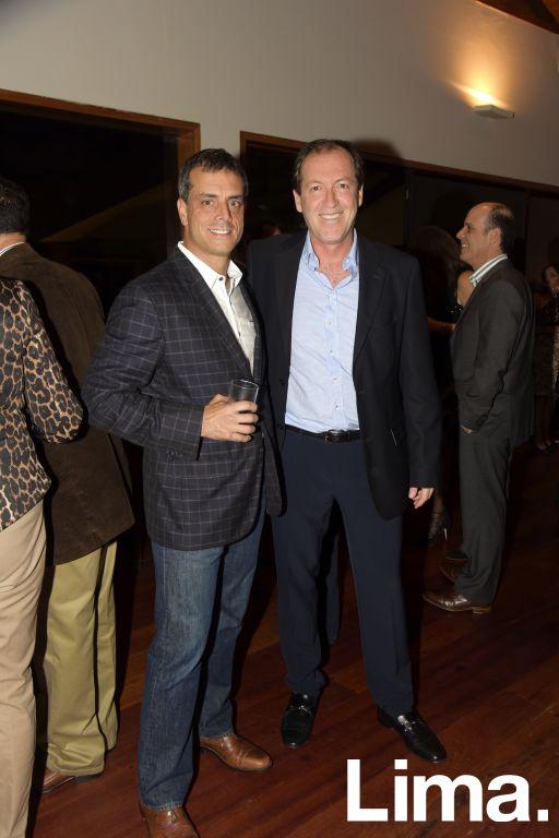 César Duharte y Felipe del Río.