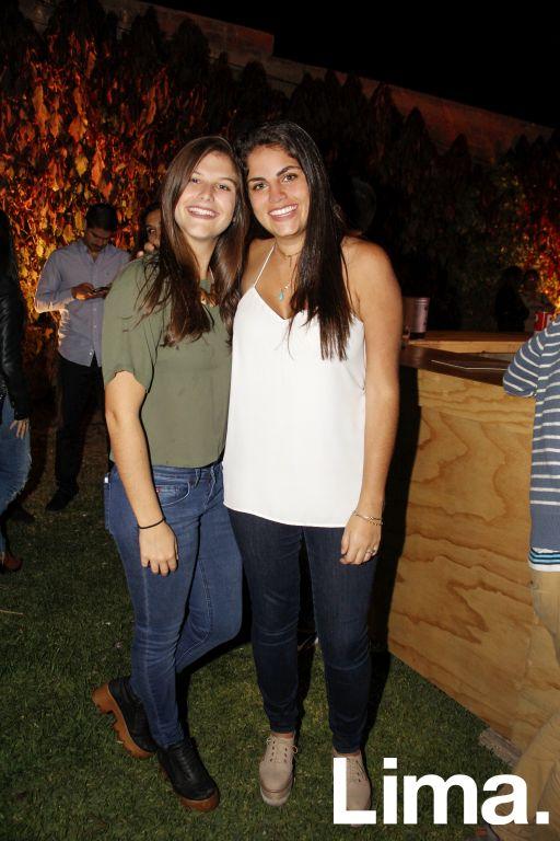 Camila Cuglievan y Maria Paz Zegarra.