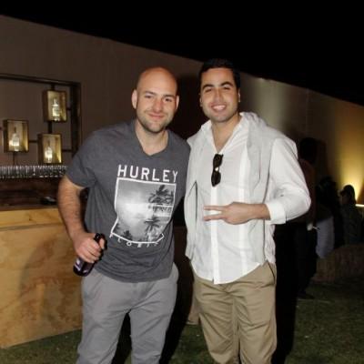 Carlas Alayza y Alejandro Guzmán.