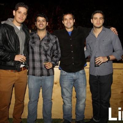 Carlos Cateriano, Rodrigo Sayán, Fabio Nicolini y Nicola Remy.