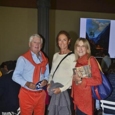 Carlos Palacios, Cristina Tudela y Mónica Palacios.